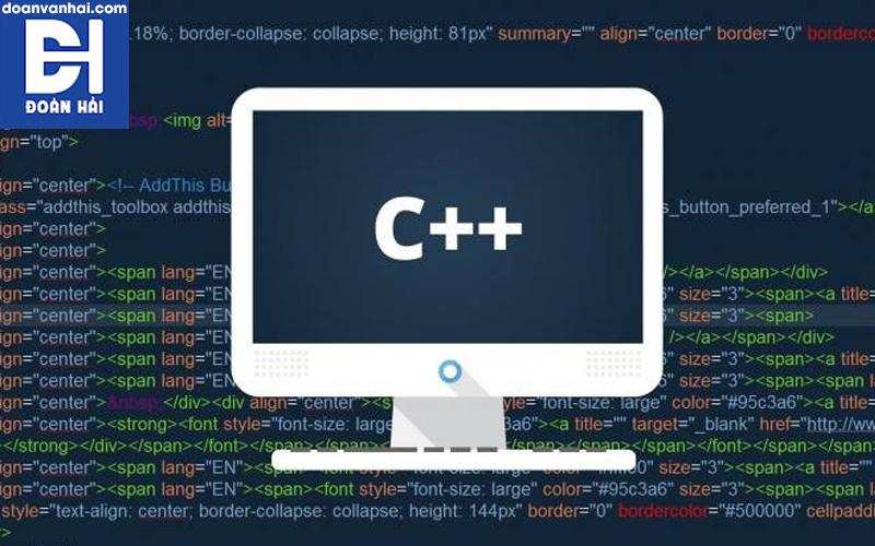 Lập trình C++ hướng đối tượng