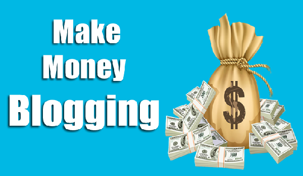 Make money from a great blog