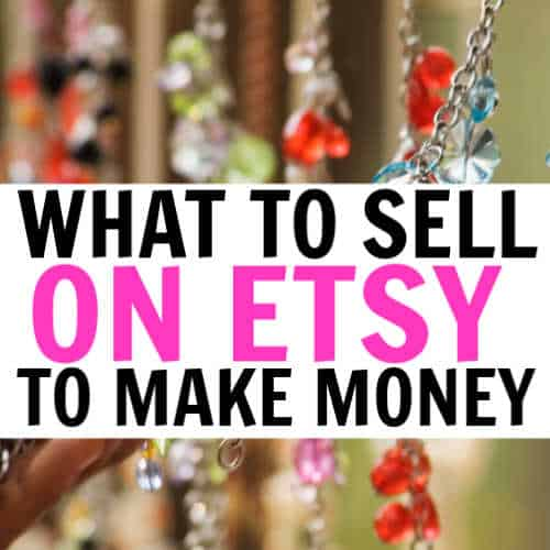Selling crafts on Etsy