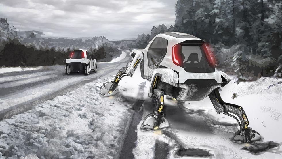 Hyundai Có Thể Biến Chú Chó Robot Thành Ô Tô Đi Bộ