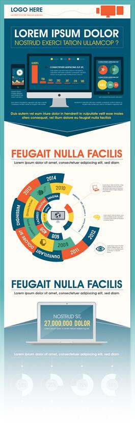 Mẫu infographic PSD