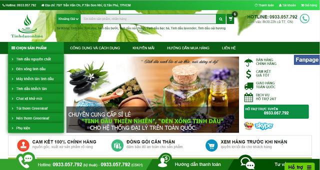 Free blogspot template - Essential oils online