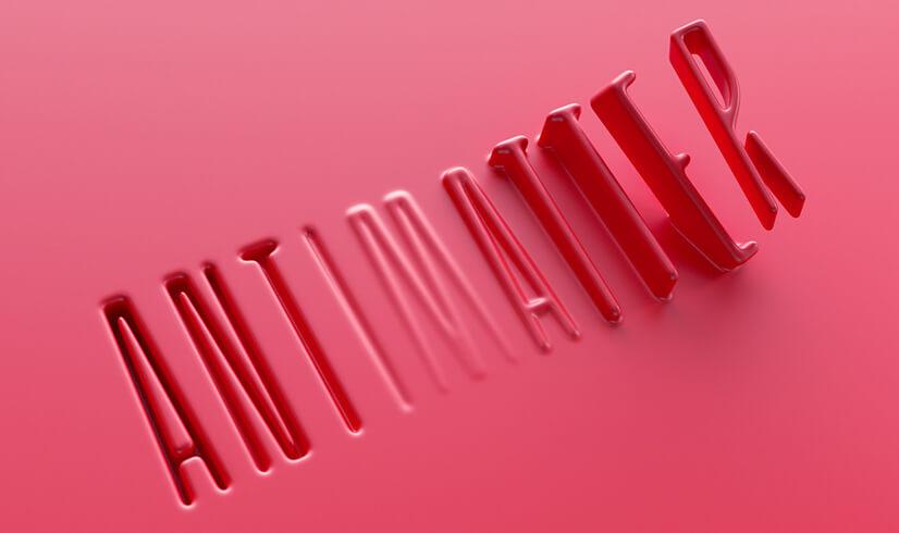 Thiết kế kiểu chữ 3D