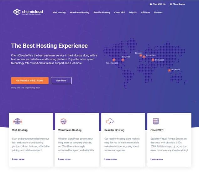 Hosting web tốt nhất năm 2021