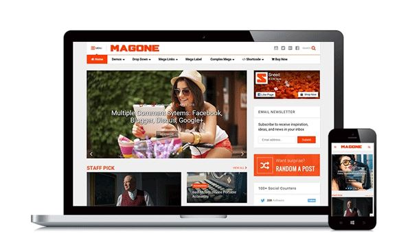 Copyright MagOne Template - Free Share (update)