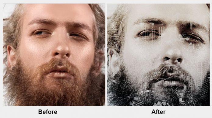 Double Exposure Kit cho Photoshop tuyệt đẹp