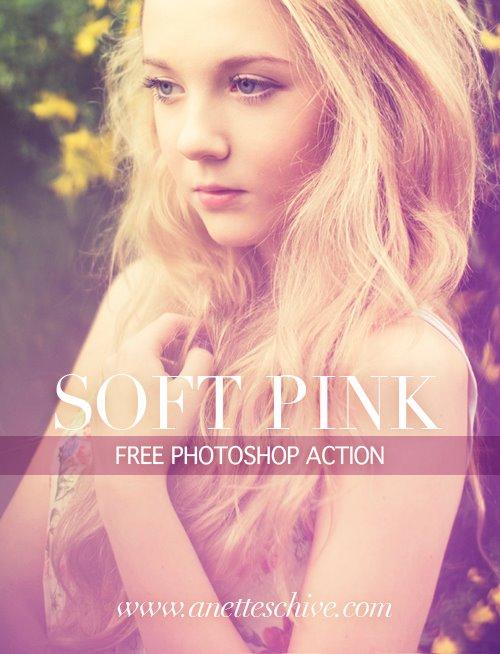 Download miễn phí action blend màu hồng nhạt khá cổ điển