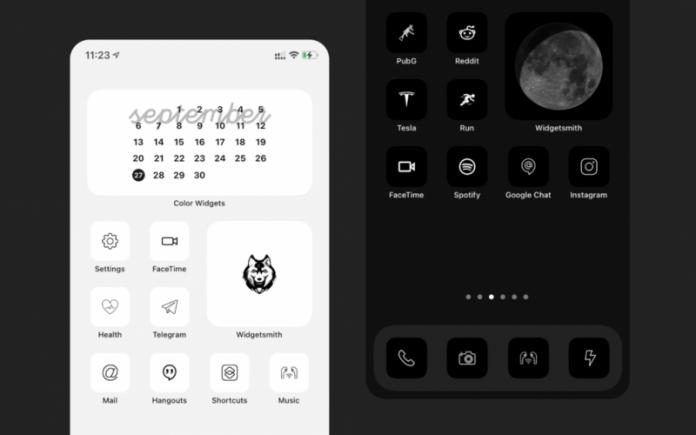 Bộ 150 icon tối giản cho iOS 14