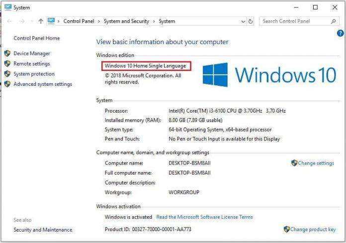 key bản quyền Windows 10