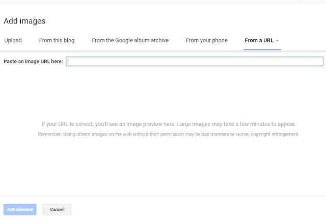 Đi tới tab URL và dán liên kết tải xuống GIF động