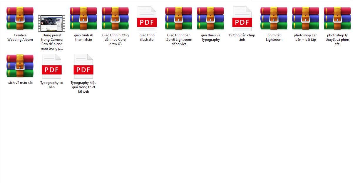 Tổng hợp Giáo trình - Hướng dẫn thiết kế đồ họa cơ bản