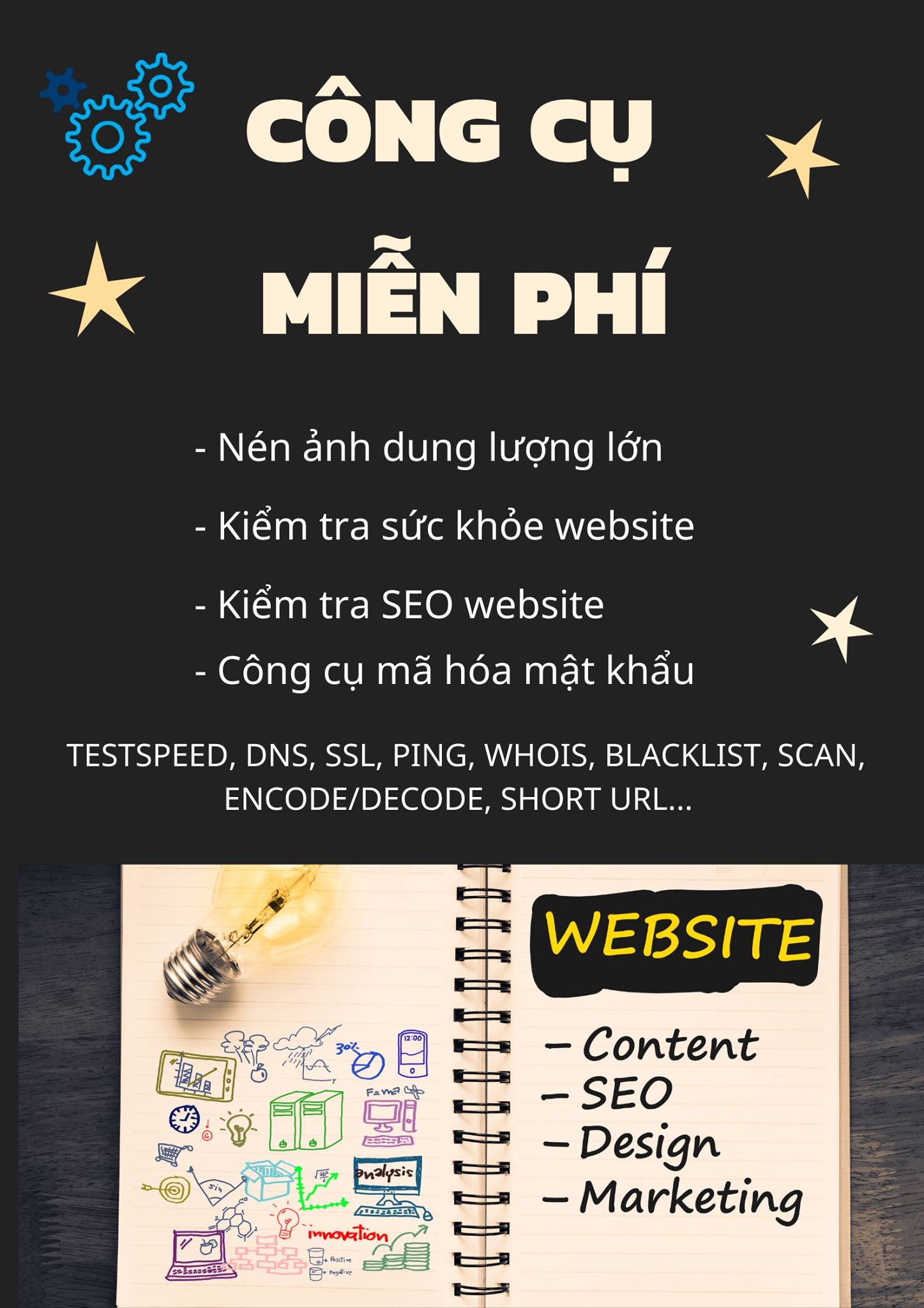 Công cụ kiểm tra website từ A - Z : Seo website hiệu quả