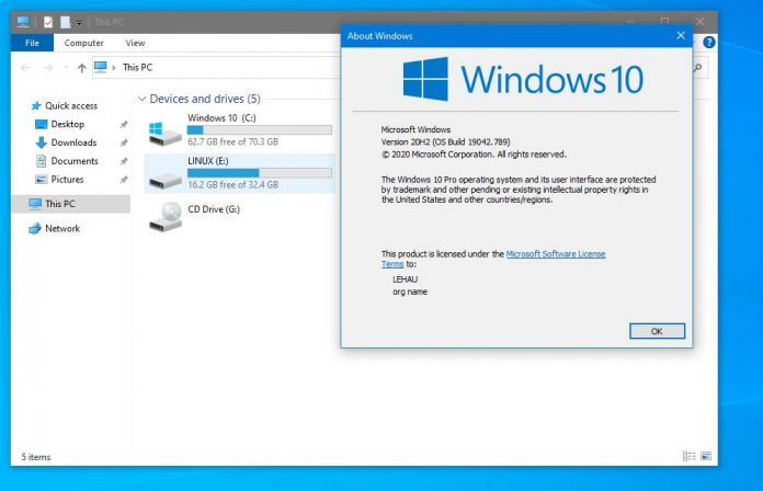 Download Windows 10 LITE - Bản cập nhật mới nhất năm 2021