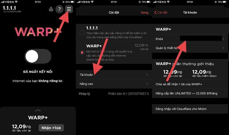 Data VPN Warp+