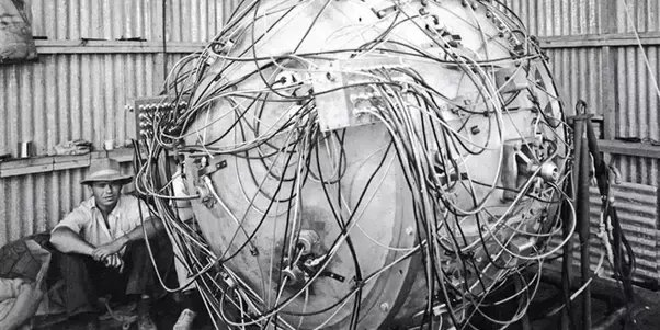 Quả bom nguyên tử đầu tiên của nhân loại