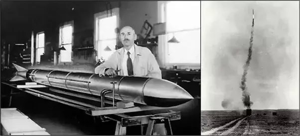 Tiến sĩ Robert H. Goddar với phát minh của mình đã thay đổi thế giới