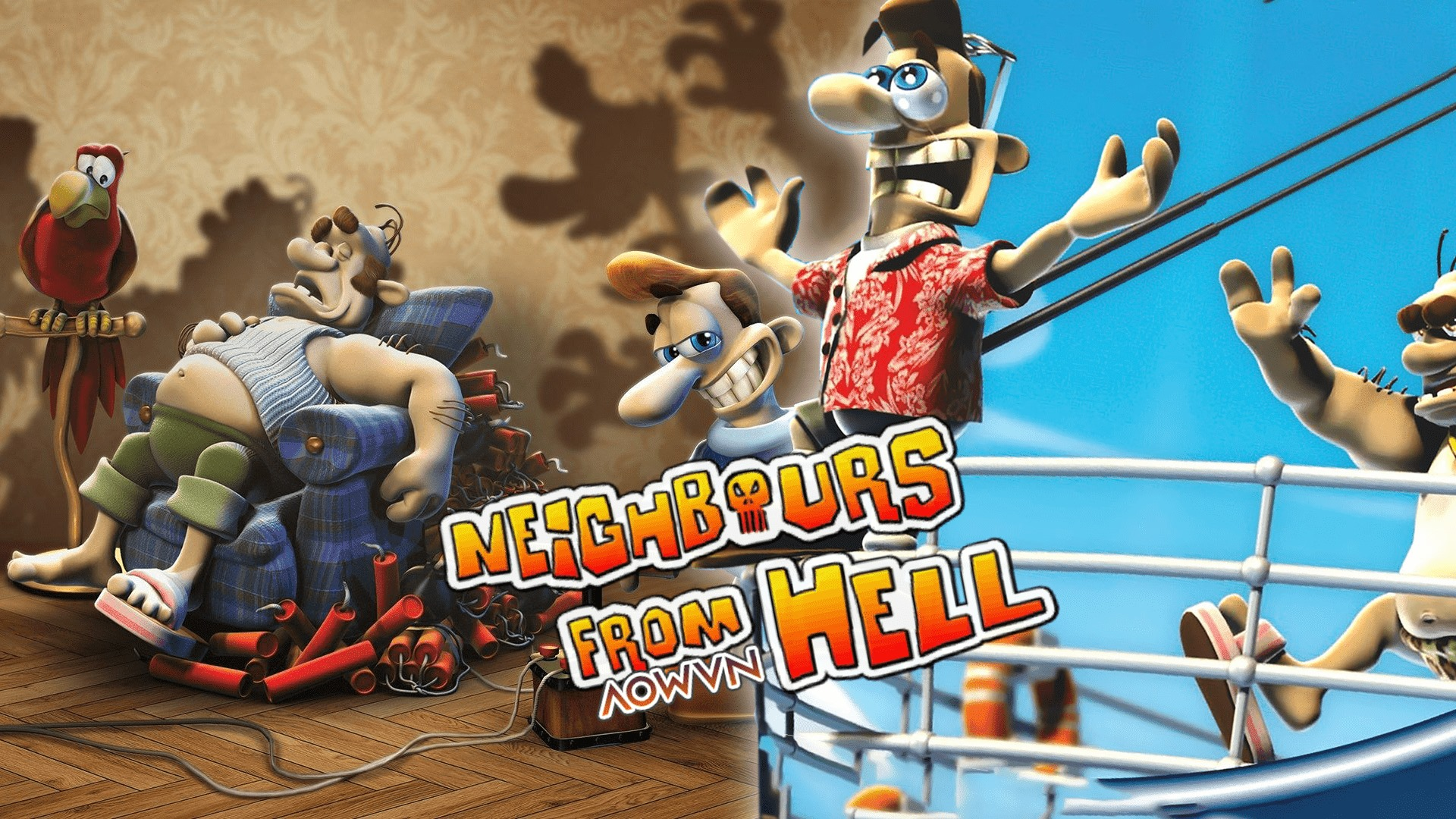 Tải game Neighbours From Hell Việt Hoá cho Android