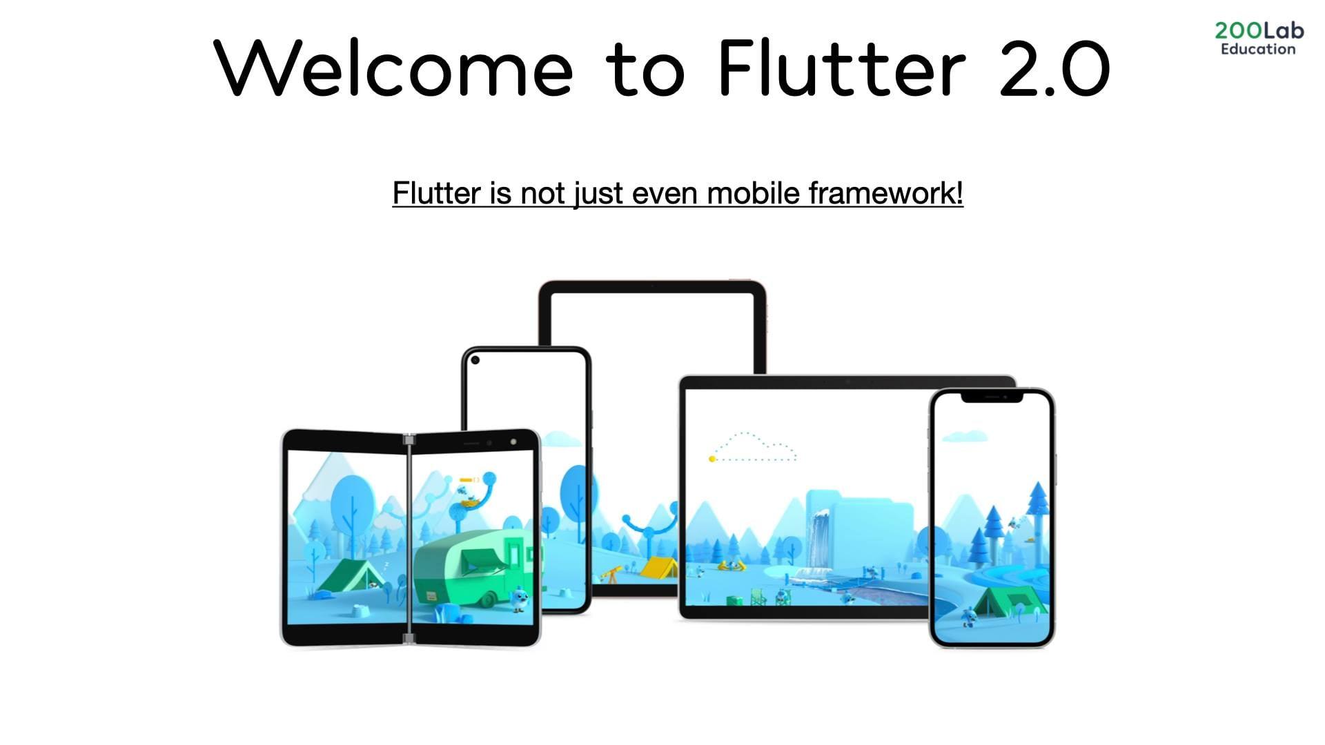 Flutter đã chính thức ra mắt version 2.0 - Hiệu năng cực đỉnh