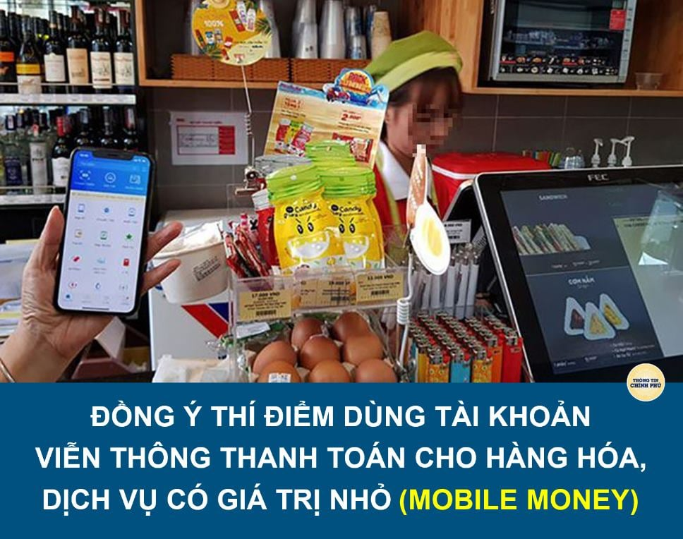 dịch vụ Mobile Money