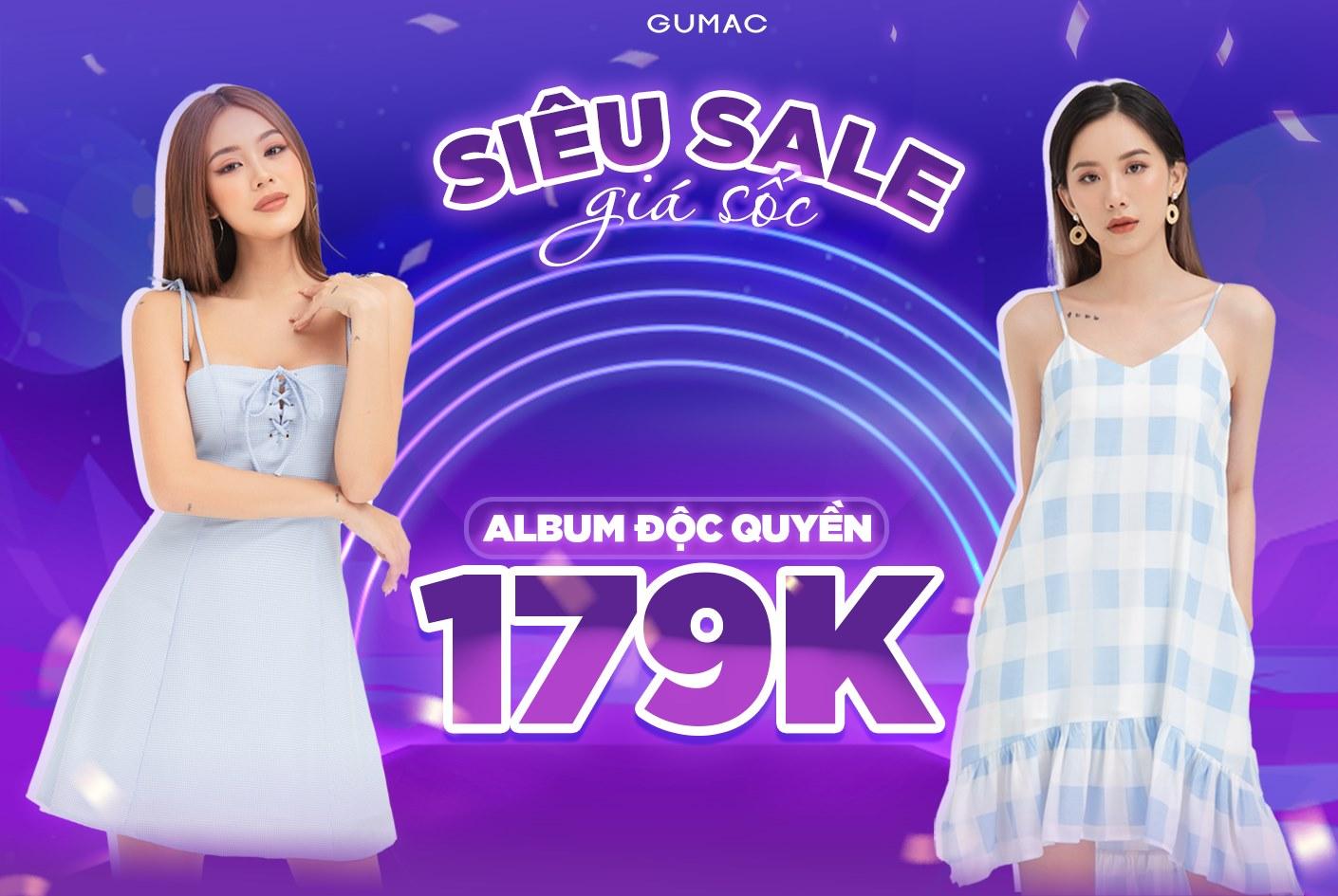 GUMAC Sale Cực Lớn - Đồng Giá Chỉ 179K