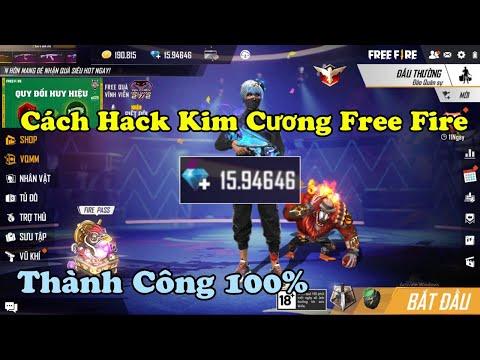 Hack Free Fire mới nhất: Full Kim cương