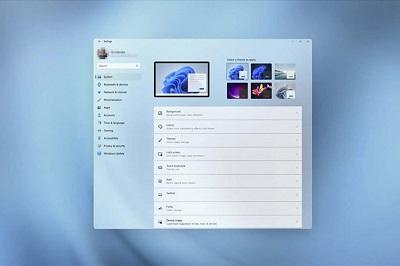 Giao diện Windows 11
